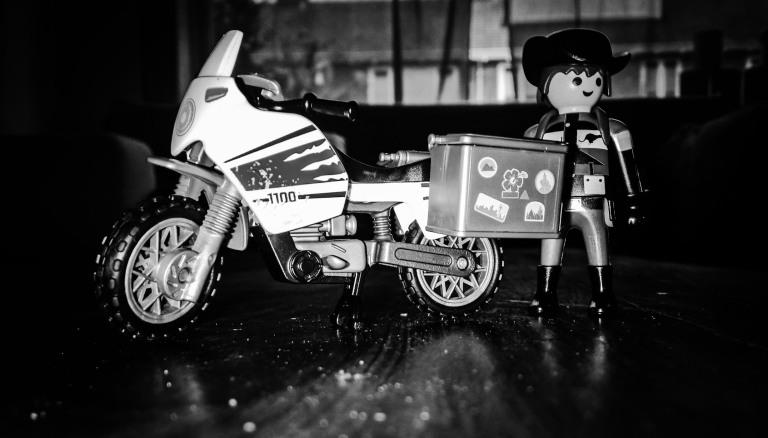 MotoNomad playmobil footlooseNomad