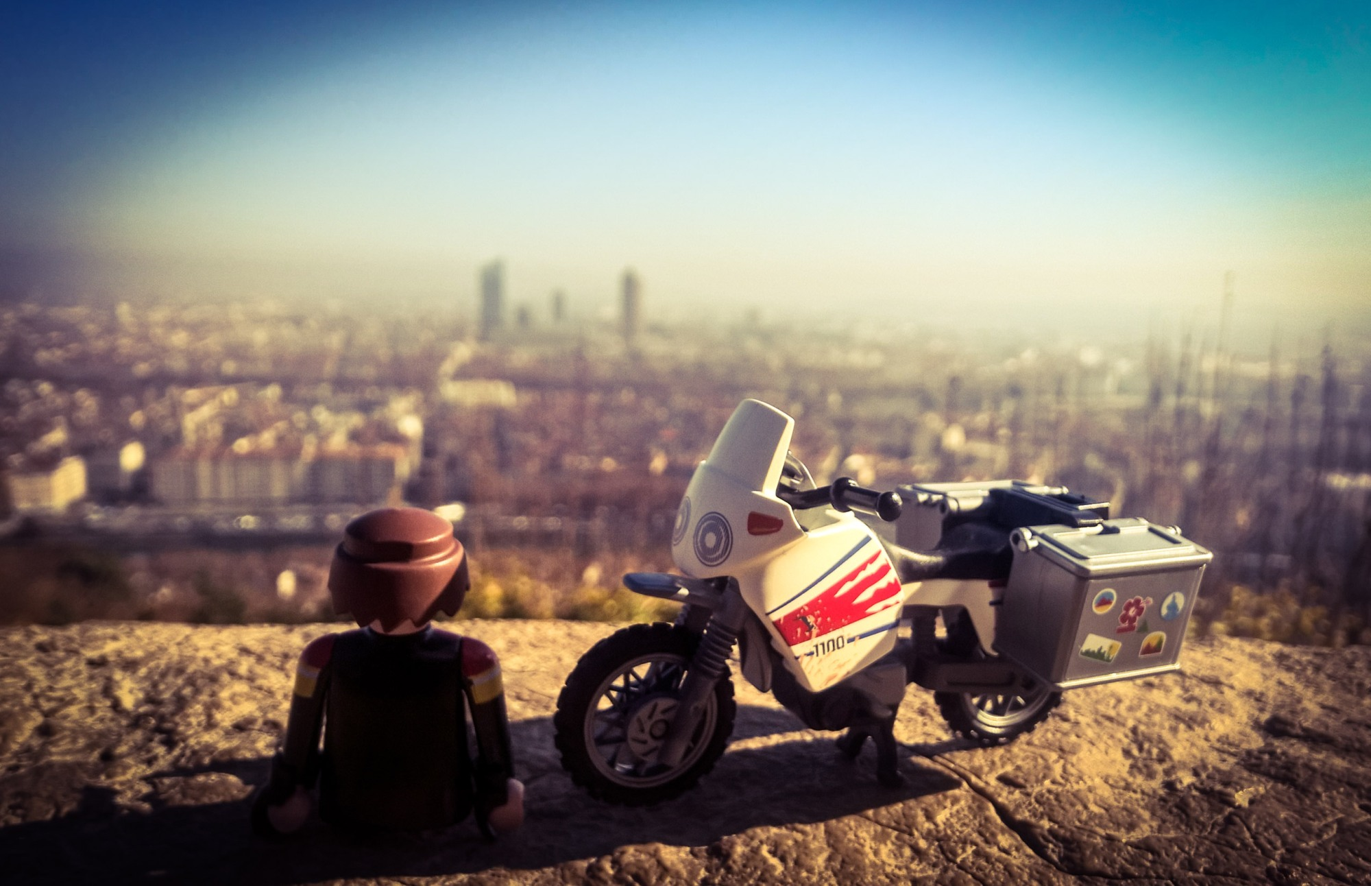 Playmobil photography in Lyon, France